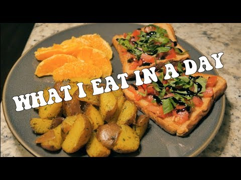 What I Eat In A Day (vegan) // EP. 1