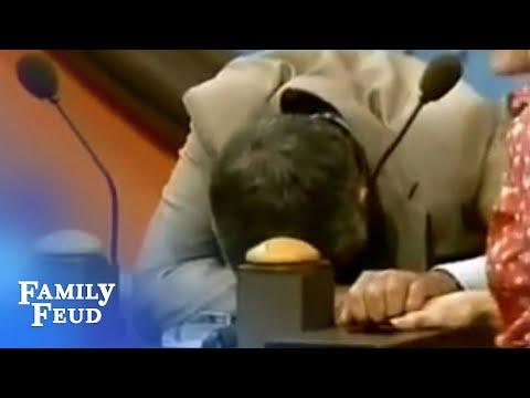Richard Dawson Cracks Up! | Family Feud