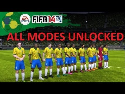 How To UNLOCK FIFA 14 ALL MODES iOS 8 and below (NON-JAILBROKEN (NEWEST VERSION 1.3.6 - WORLD CUP)