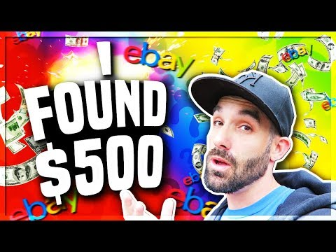 HOW TO MAKE MONEY ON EBAY -  I Found $500 in 2 Boxes 😍 #5BOXCHALLENGE