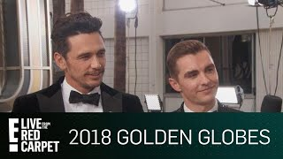 James Franco Dishes on Dinner With 2018 Globes Nominees | E! Live from the Red Carpet