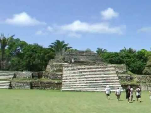 Mayan pyramids in Belize
