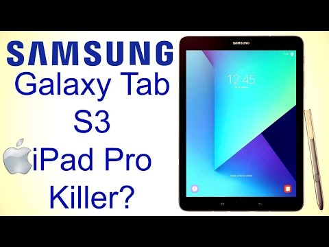 Samsung Galaxy Tab S3 Hands On Review - The Apple iPad Pro Killer?