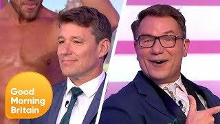 GMB Receive Their Own Love Island 'Men at Work' Challenge | Good Morning Britain