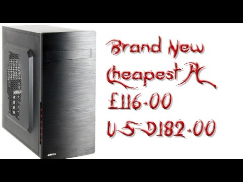 Build A Cheap Potato Pc - Components List only - First Awful Video Nov 2014