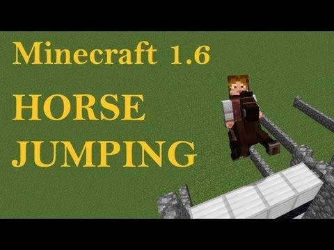 Minecraft 1.6 Horse Jumping