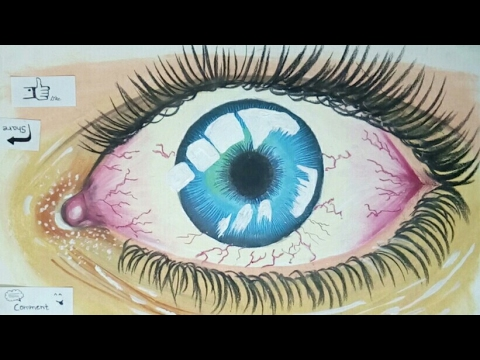 Making realistic Eyes by using Soft Pastels | Use Of camel soft pastels