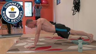 Most push ups in one hour - Guinness World Records