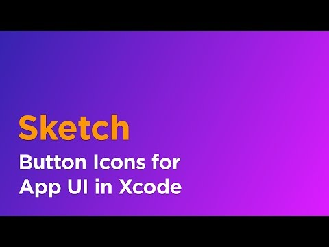How to Create Button Icons in Sketch using Symbols for Xcode UI Design