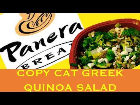 Panera Bread's Modern Greek Salad (Copy Cat) | Best NO Meat Salad