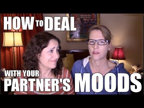 Lesbian Couple Relationship Goals: How to Deal with Your Partner's Moods: Lacie and Robin