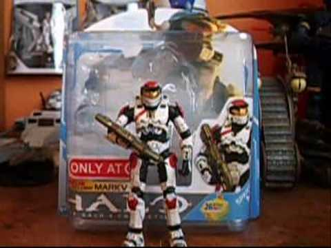 Halo: The Halo 3 Collection Target White Mark V Series 7 Action Figure Review
