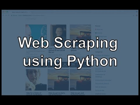 Web Scraping in Python using Scrapy: Scraping a Crowdfunding Website