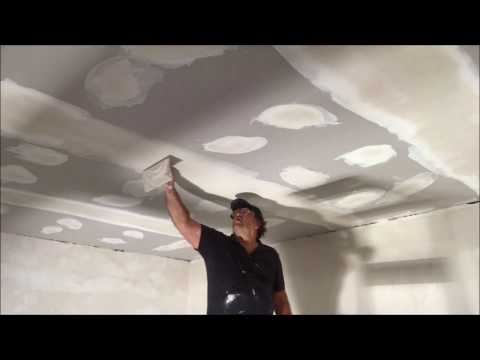 Installing a New Ceiling where an old had been