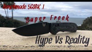 New~ Benchmade Freek G10- 560BK-1 Super Freek - PakVim net
