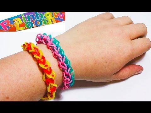 How To Make the Rainbow Loom Diamond Bracelet