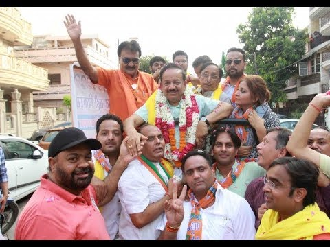 Dr Harsh Vardhan flags off motorcycle rally to mark 4 years of NDA govt