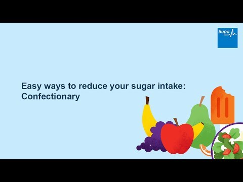 Easy ways to reduce your sugar intake: Confectionary
