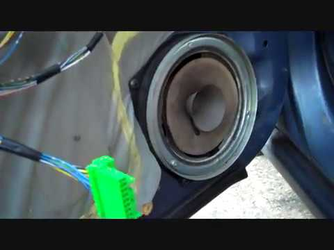 Honda Accord Front Speaker Removal and Replacement
