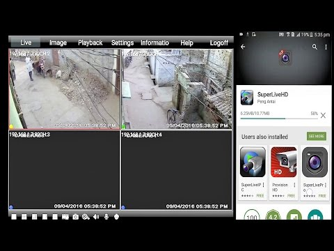 HOW TO CONNECT CCTV TO ANDROID OR iPhone ? step by step