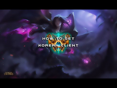 How to change language to korean on league of legends
