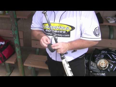 Easton Slowpitch Bat Grip Modification