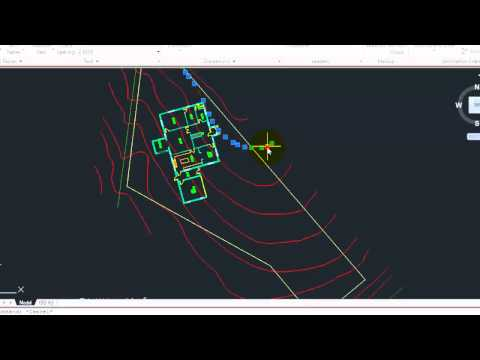 AutoCAD Setup and Inserting of Contour Information