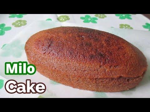 Milo Cake Recipe