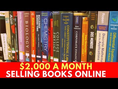 How to Make $2,000 a Month Selling Books on Amazon