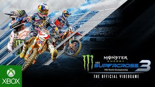 Monster Energy Supercross - The Official Videogame 3 | Announcement Trailer