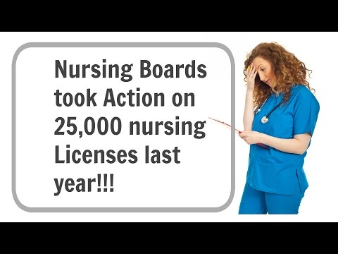 How To Protect Your Nursing License; Nurse License Protection