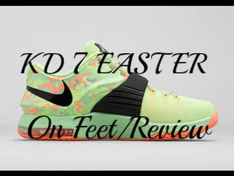 KD 7 Easter (On Feet) Review!