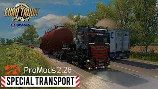 ETS2 - My map setup - Promods, Rusmap, Southern Region, Great Steppe