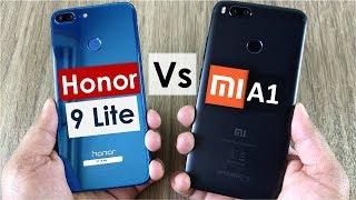 Mi A1 vs Honor 9 Lite | Gaming, Camera, Battery, Sound, Design & Build