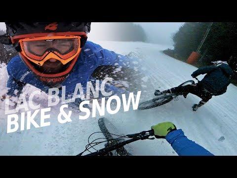 FULL SPEED MTB RUN down a ski slope - Lac Blanc BIKE & SNOW -subtitled-