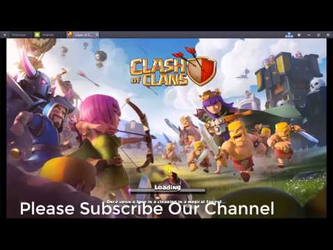 Install Clash of Clans in your Computer or Laptop