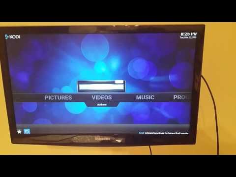 How to clear and update kodi on a amazon fire stick