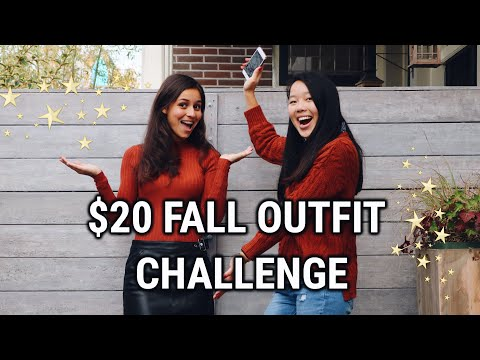 CHEAP FALL OUTFITS CHALLENGE PRIMARK! Friend buys my outfits haul