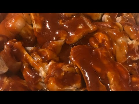 Requested BBQ pig feet video