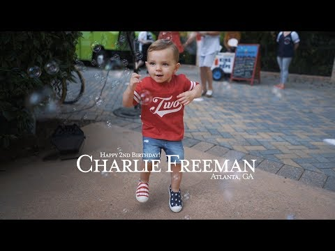 Xxx Mp4 Charlie Freeman 39 S 2nd Birthday Party Freedie Freeman Atlanta Braves Sony A7III 3gp Sex