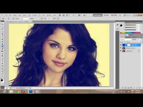 Photoshop CS5 Vintage Effect for Beginners