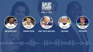 UNDISPUTED Audio Podcast (4.11.18) with Skip Bayless, Shannon Sharpe, Joy Taylor   UNDISPUTED