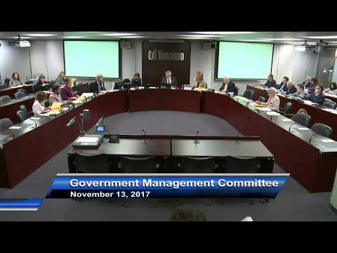 Government Management Committee - November 13, 2017