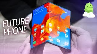 Huawei Mate X hands-on: This foldable phone is from the FUTURE