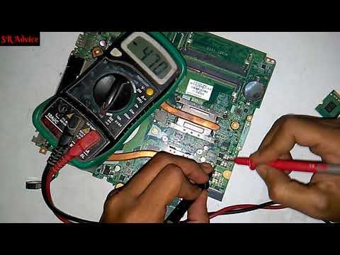 How to Repair Dell Laptop motherboard