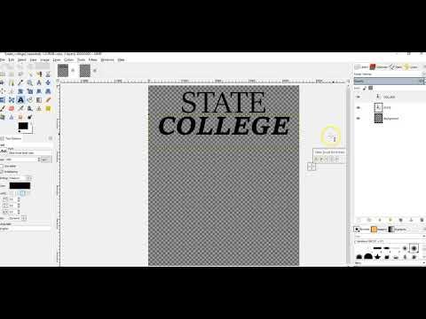 How To Export Merch T Shirt Designs In GIMP
