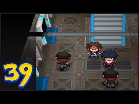 Pokémon Black 2 & White 2 Gameplay Walkthrough - Team Plasma Ship, Team Plasma Warp Puzzle & Kyurem!
