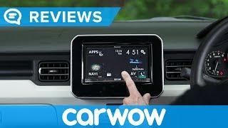 Suzuki Ignis 2018 infotainment and interior review   Mat Watson Reviews
