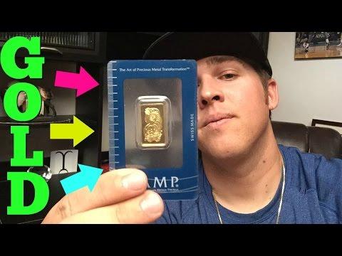 Buying GOLD BARS!