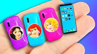 12 DIY Barbie Hacks + miniature LOL